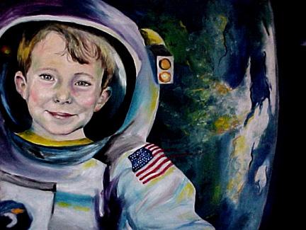 cole astronaut detail