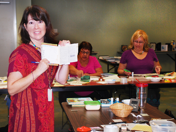 teaching altered book workshop