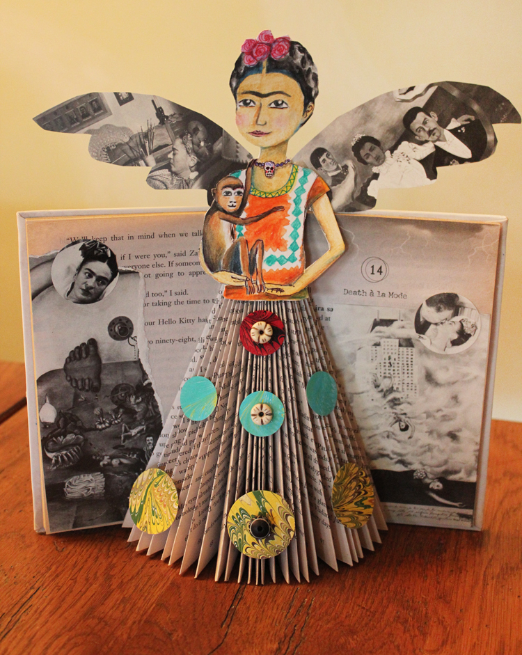 frida book with wings