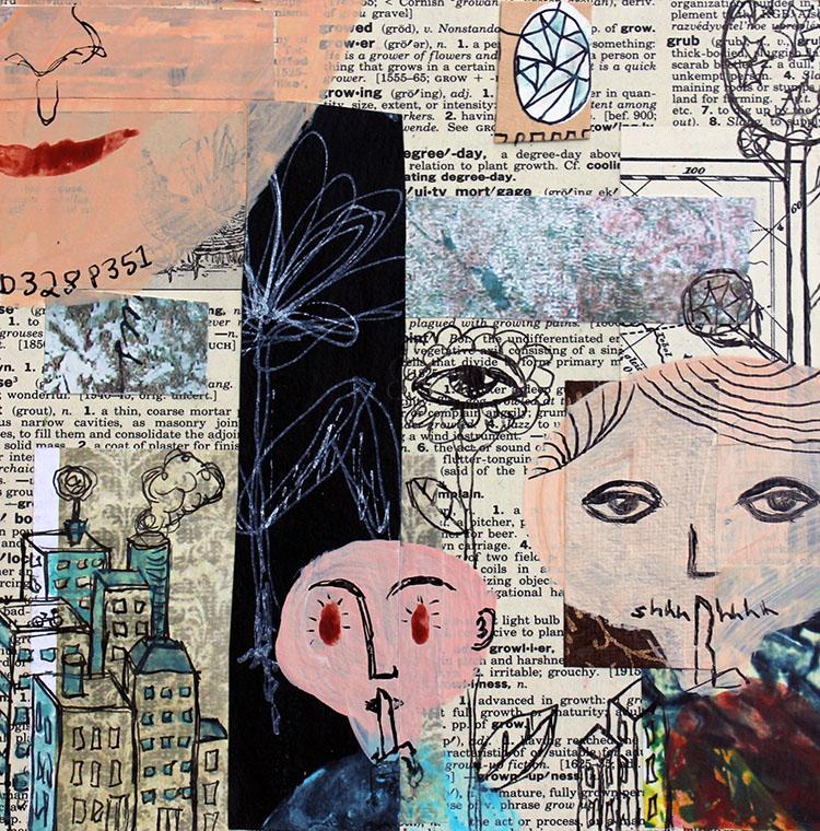 Collage by Julie Flandorfer