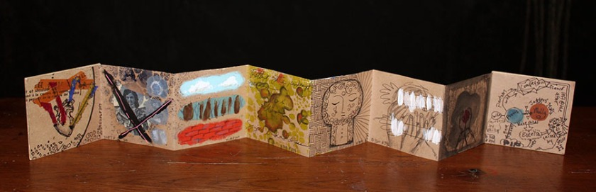Accordion book by Julie Flandorfer