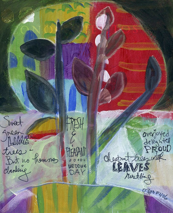 Art Journal Great Expectations by Julie Flandorfer